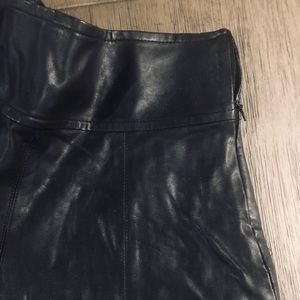 FOREVER 21 • Faux leather skirt